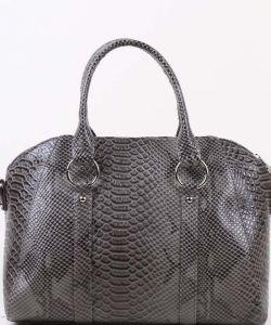 Серая женская сумка Медведково