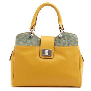 Жёлтая сумка Fiato