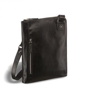 Кожаная сумка через плечо BRIALDI Gaeta (Гаета) black