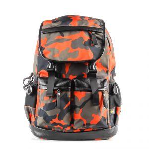 Рюкзак молодежный 1130115330_24; полиэстер; оранжевый