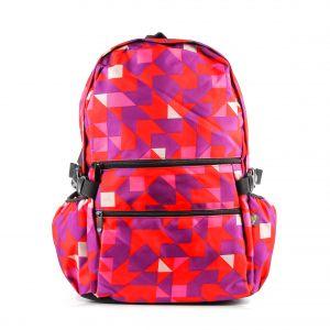 Рюкзак молодежный 1130115332_37; полиэстер; красный