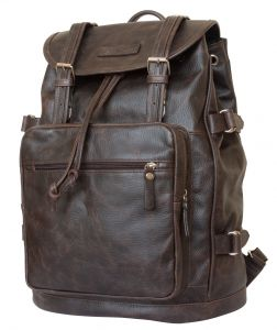 Кожаный рюкзак Carlo Gattini Volturno brown