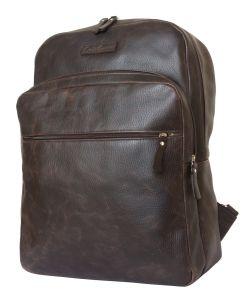 Кожаный рюкзак для ноутбука Carlo Gattini Monferrato brown