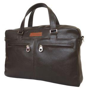 Кожаная мужская сумка Carlo Gattini Romeno brown